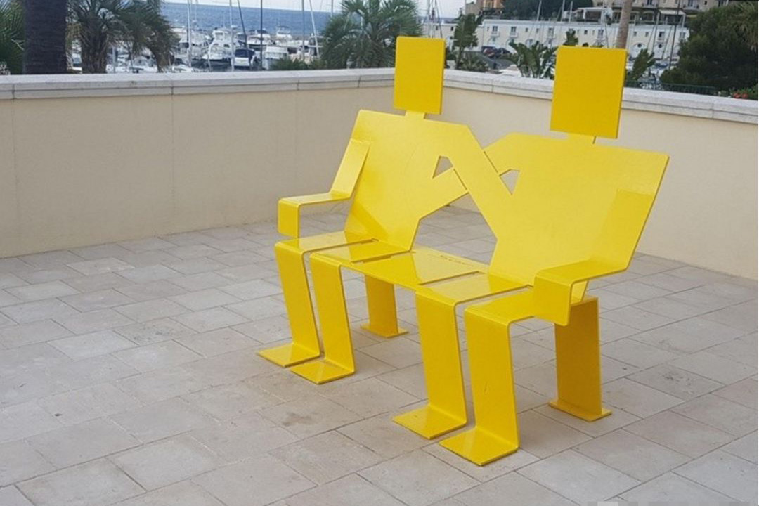 peculiar city benches
