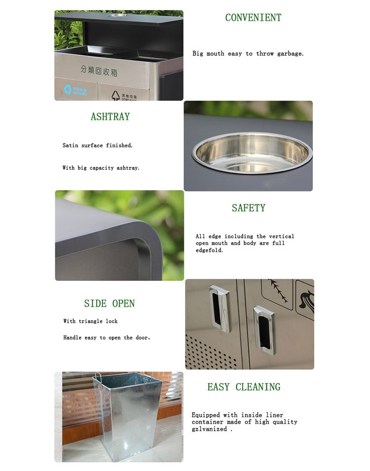 Outdoor-stainless-steel-trash-bin-with-ashtray-HD-N14