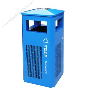 Outdoor metal garbage bins for street HD-N24