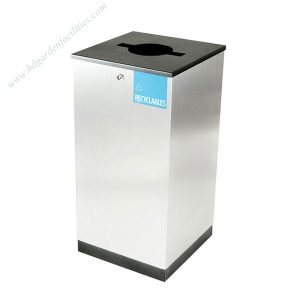 Wholesale stainless steel modular trash bins HD-N28