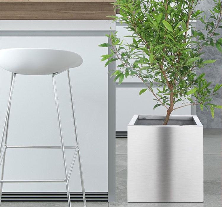 Stainless-Steel-Square-Planter-Pots-4