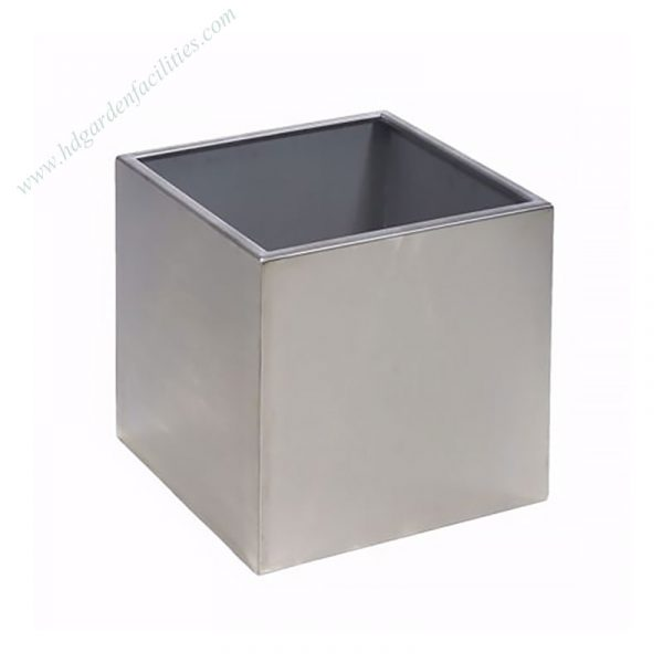 Stainless Steel Square Planter Pots