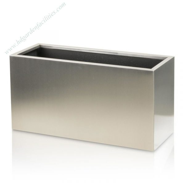 Wholesale stainless steel rectangular planters 1