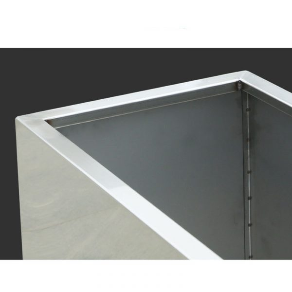 Wholesale stainless steel rectangular planters 3