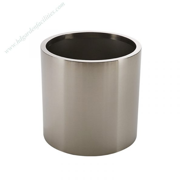 Wholesale stainless steel round flower pots 1
