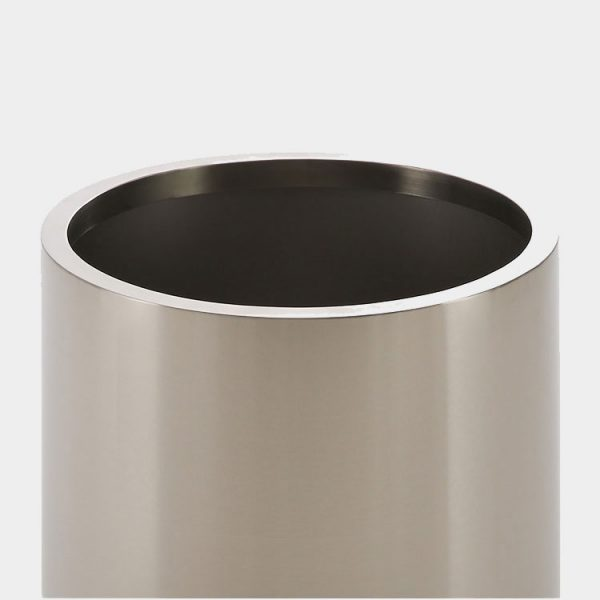 Wholesale stainless steel round flower pots 3
