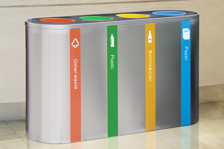How to Choose High Quality Stainless Steel Waste Recycling Bin?