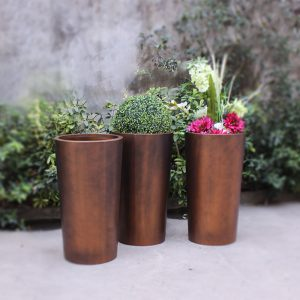 China factory wholesale antique brass stainless steel planter HD-SP207