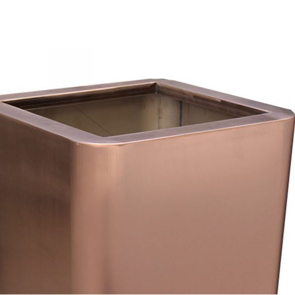 Manufactory wholesale rose gold stainless steel large planter HD-SP211 (3)