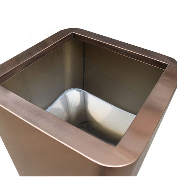Manufactory wholesale rose gold stainless steel large planter HD-SP211 (4)