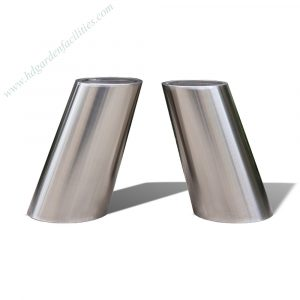 Manufacturer wholesale brushed stainless steel planters HD-SP212