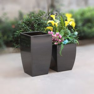 Factory wholesale new type square stainless steel planter pot HD-SP219