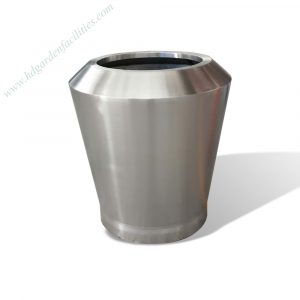 Factory wholesale stainless steel outdoor large planter HD-SP213