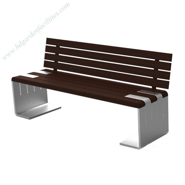China supplier wholesale metal and wood outdoor bench HD-GF2014 (1)