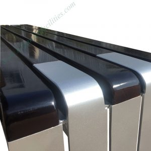 China supplier wholesale metal and wood outdoor bench HD-GF2014