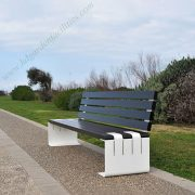 China supplier wholesale metal and wood outdoor bench HD-GF2014 (4)