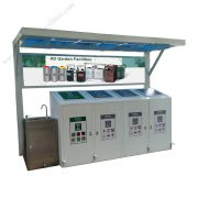 Factory wholesale community garbage sorting and recycling kiosks HD-NM40 (3)