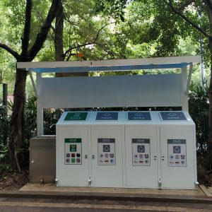 Factory wholesale community garbage sorting and recycling kiosks HD-NM40
